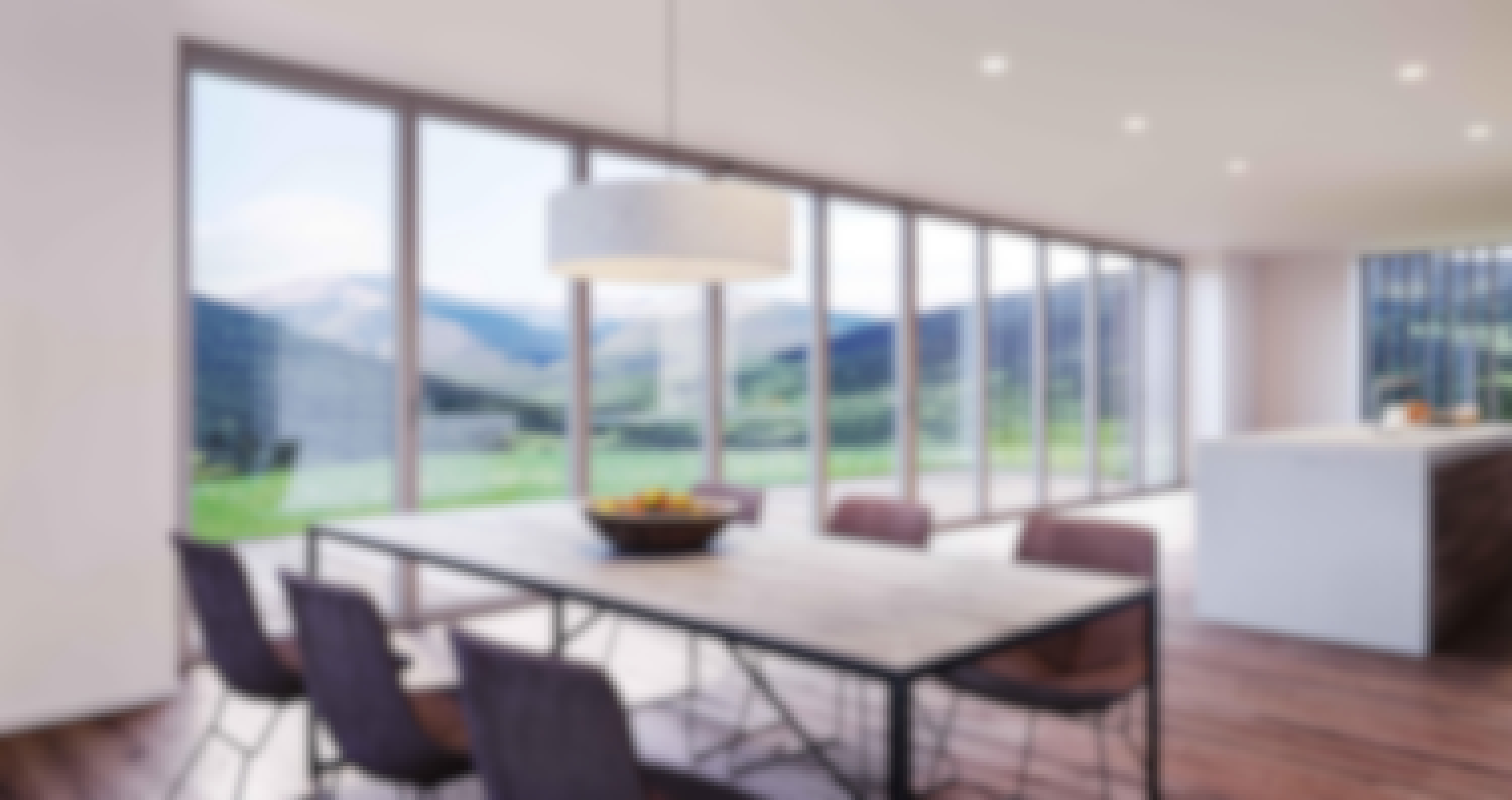 slimmest and most thermally efficient folding glass wall