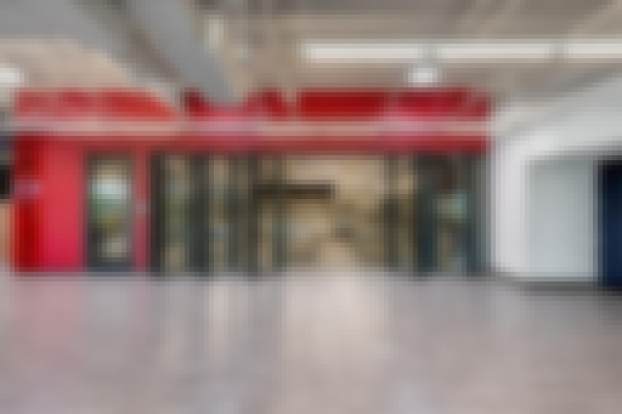 high school career and technical center in Texas with folding glass walls for flexibility in teaching
