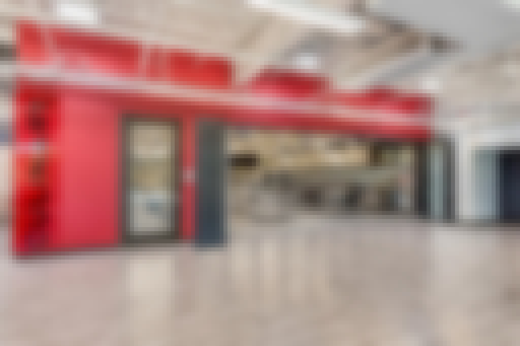 career and technical education center for high school students to learn with folding glass walls