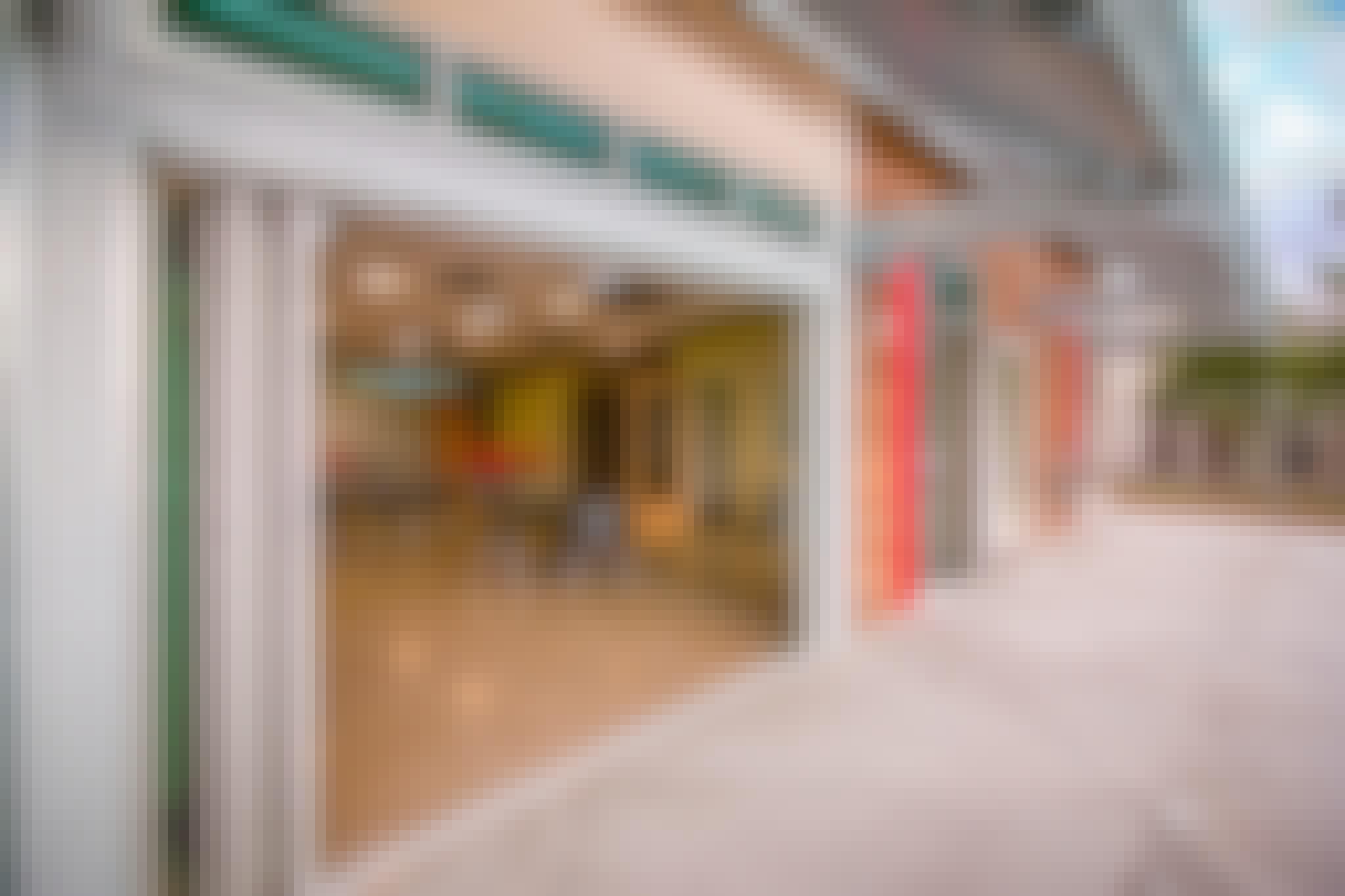 STEM classroom design exterior and interior glass walls