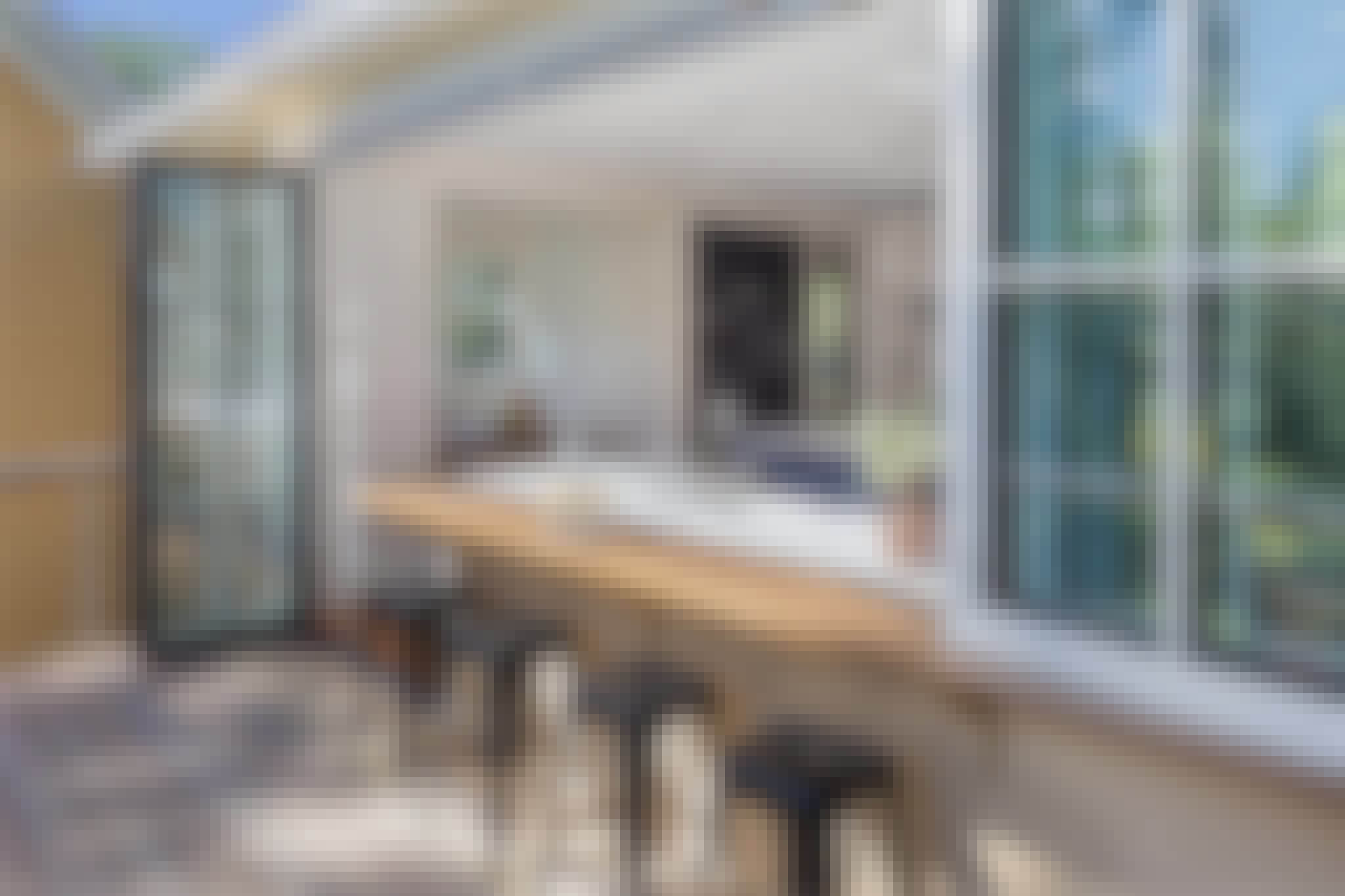 indoor outdoor living with moving glass walls 2021 interior design trends