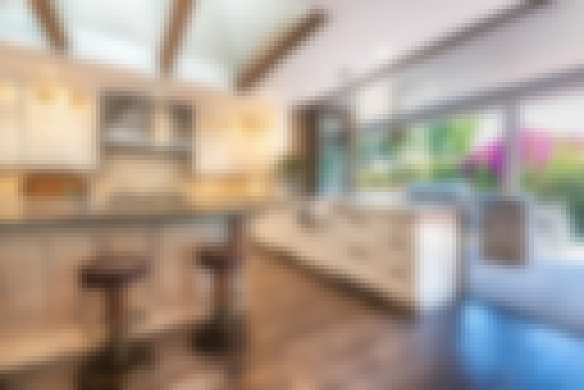 window door combination kitchen transition in residential design