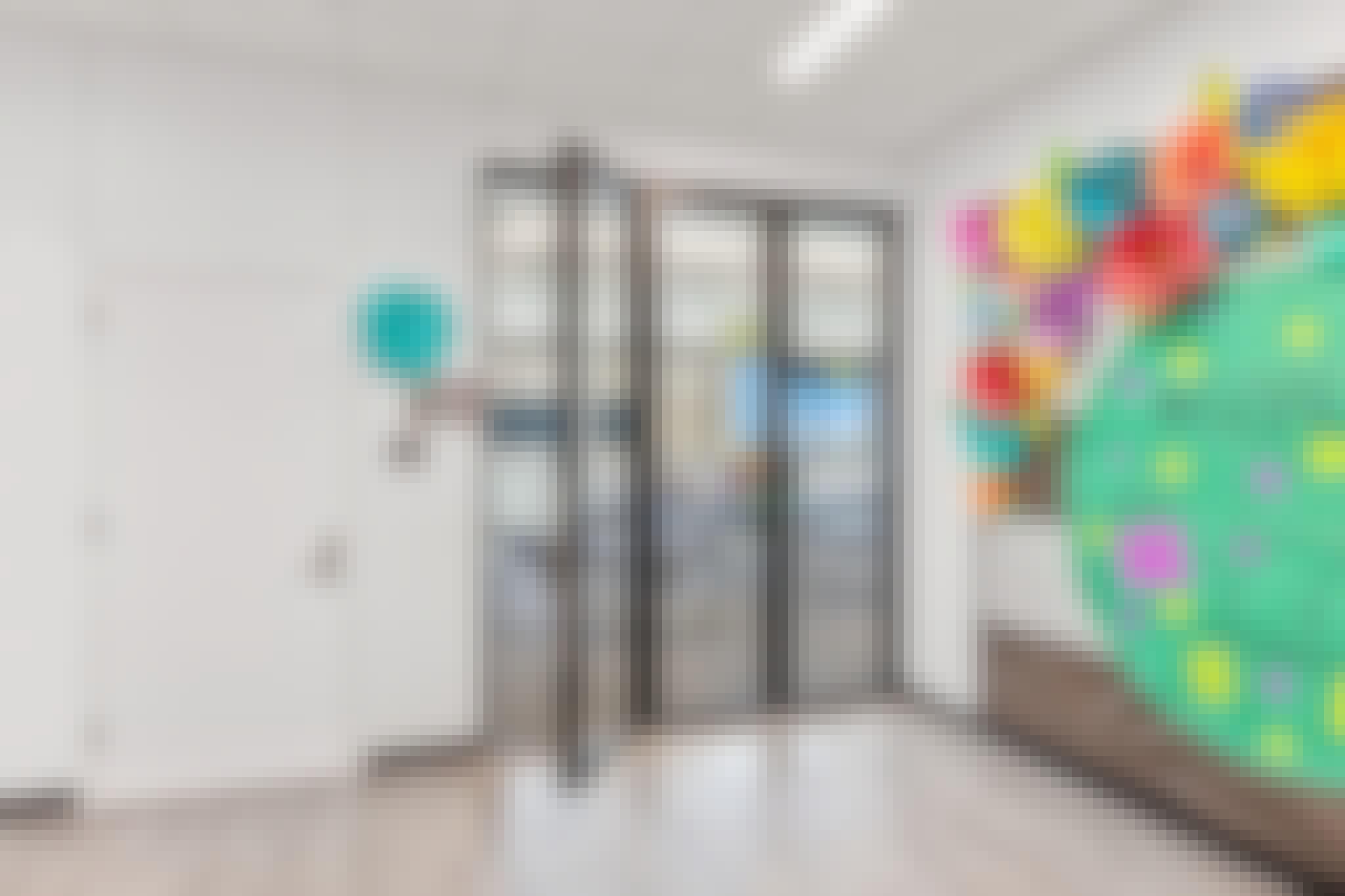 folding glass walls in learning hubs