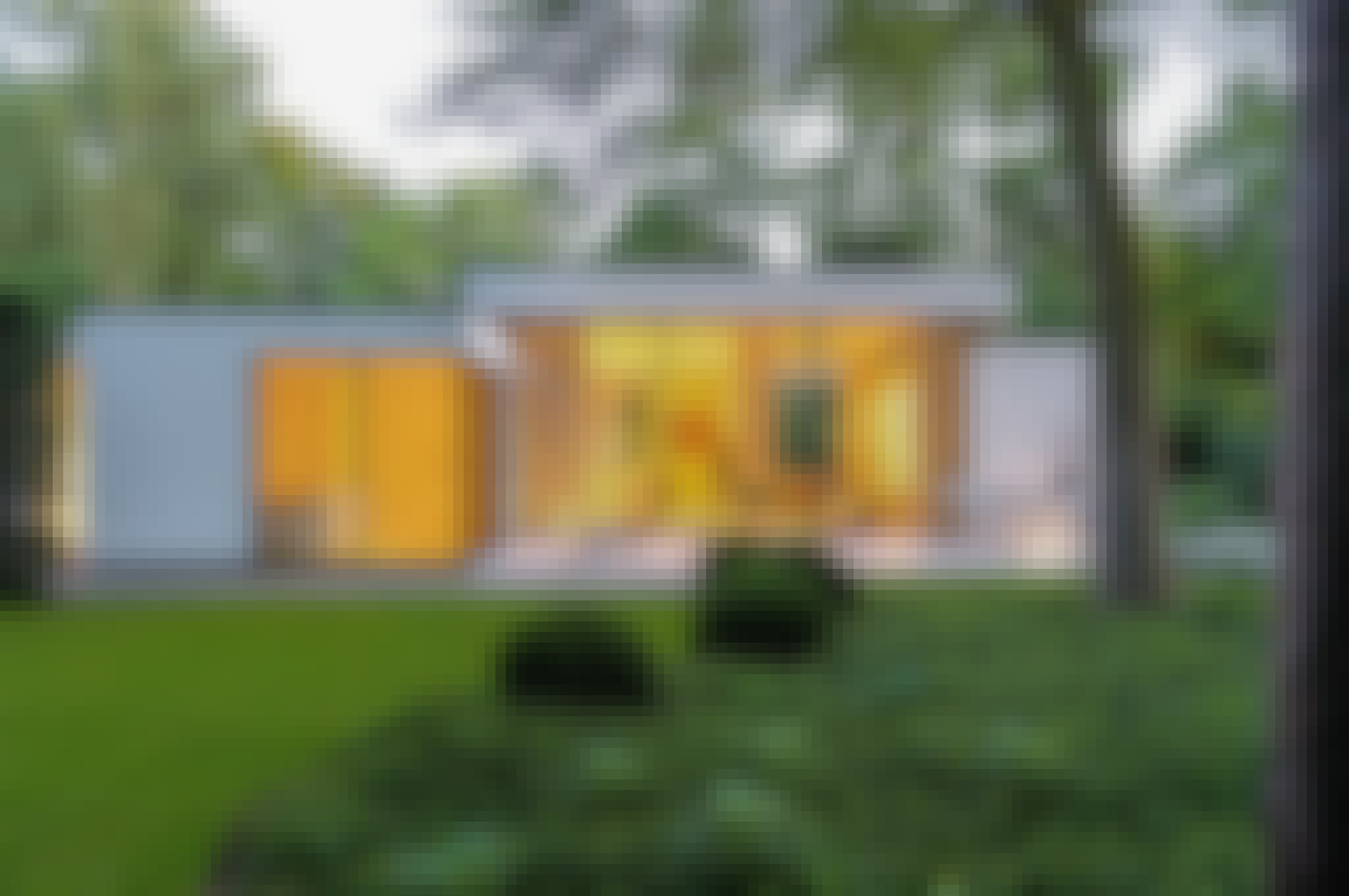 floor to ceiling exterior moving glass walls