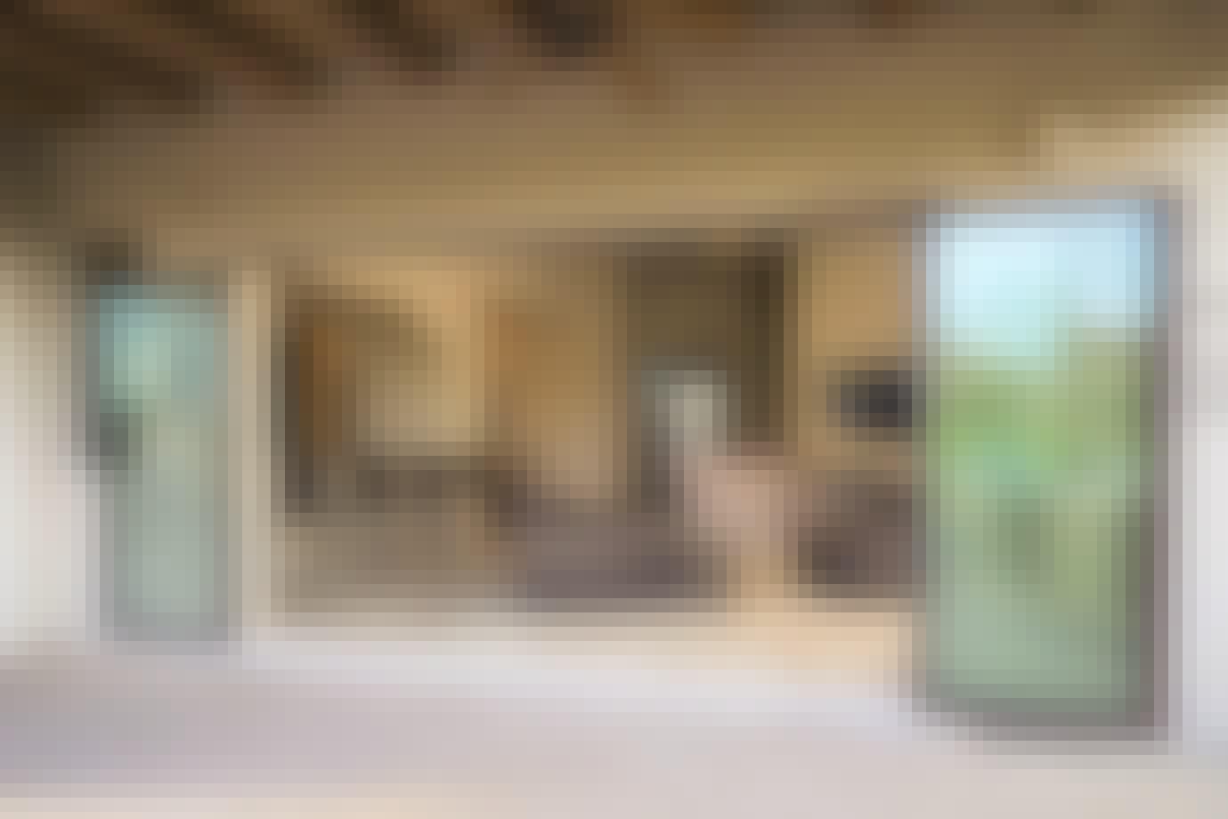 FoldFlat technology for folding patio doors