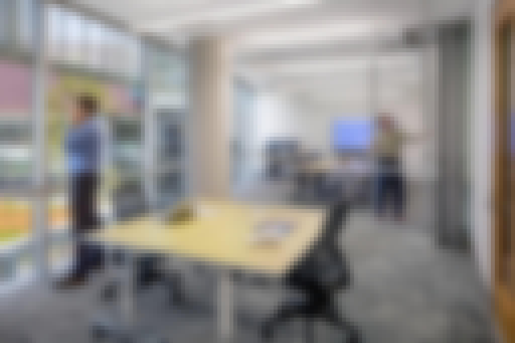 Operable Glass Partition Walls for Office Spaces