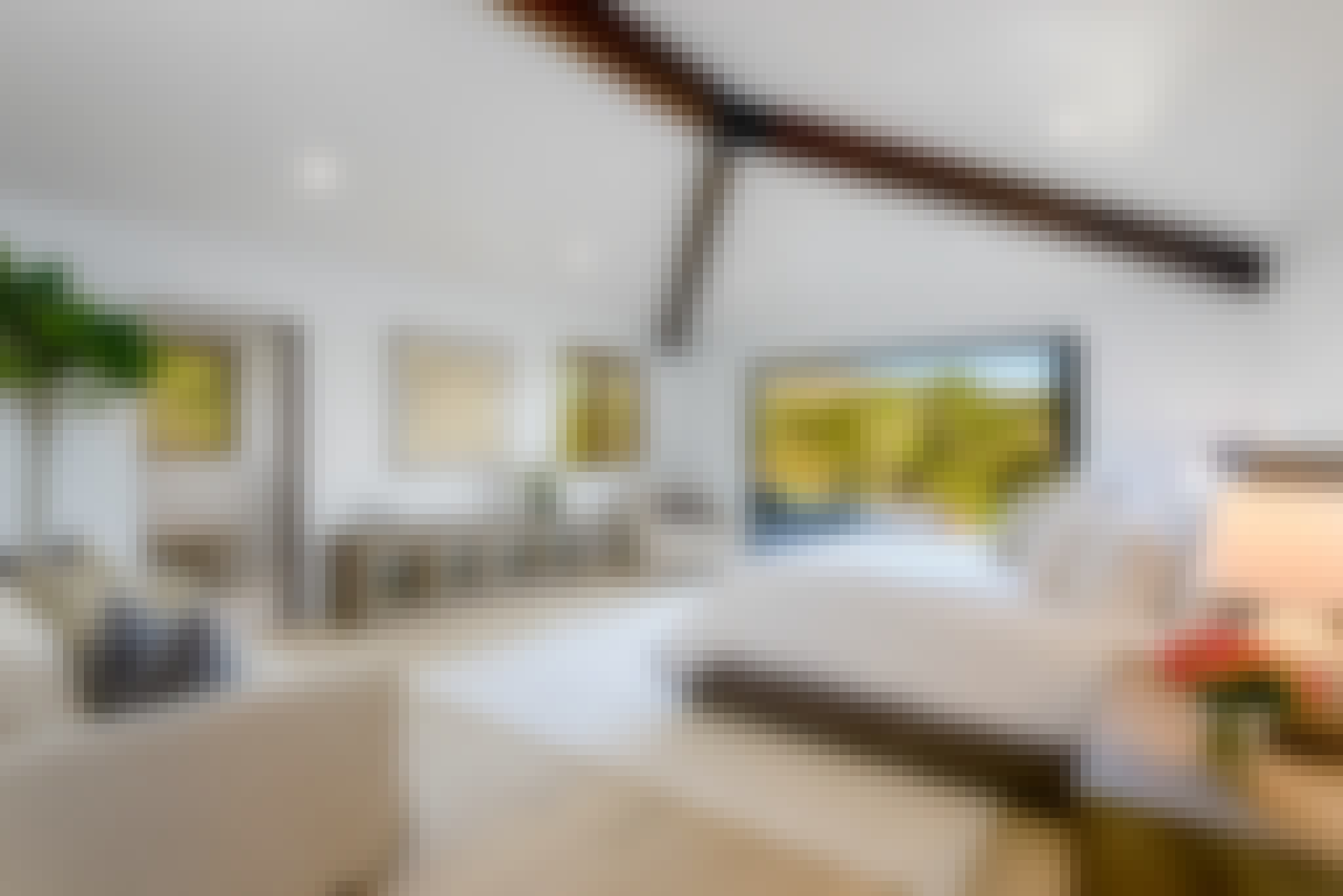 exterior glass wall systems in bedrooms