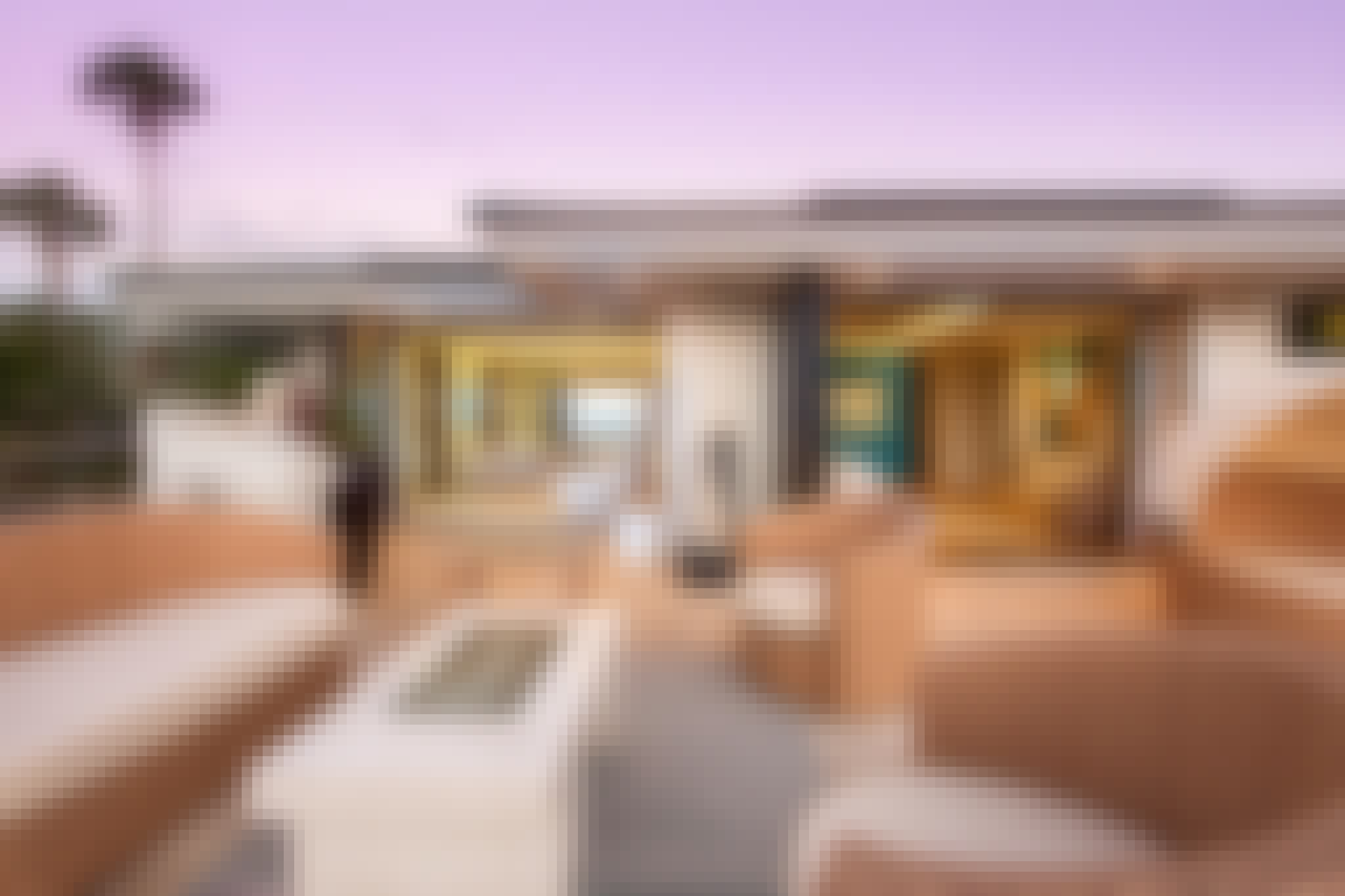 retractable glass walls in vacation rental