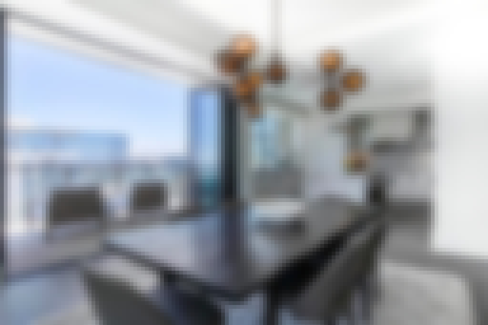 residential glass walls in a highrise condo