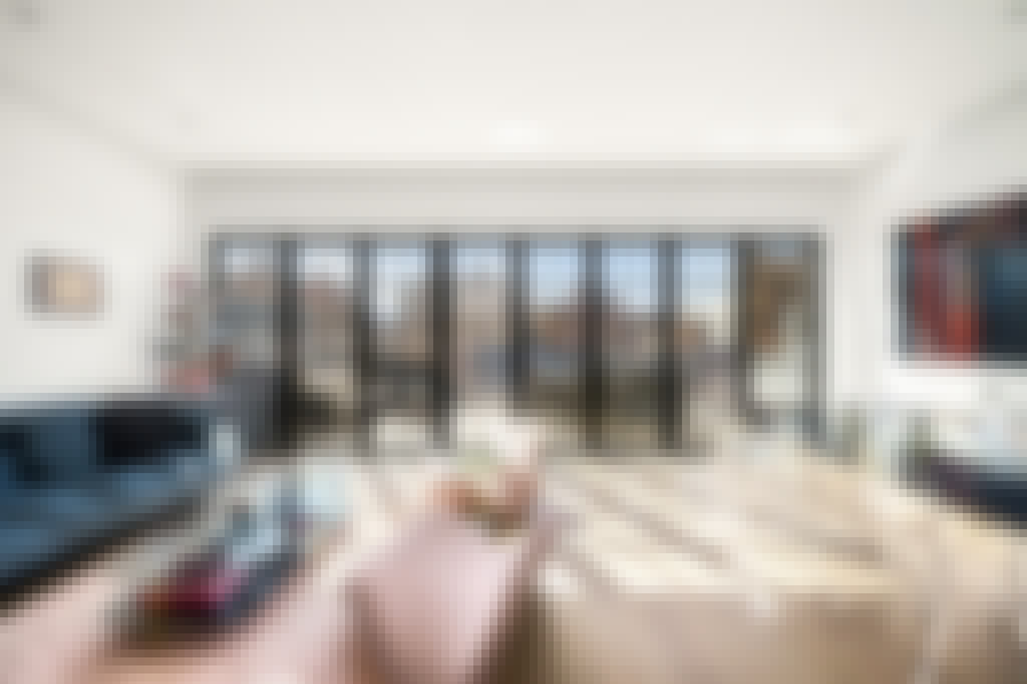 opening glass walls in million dollar listing