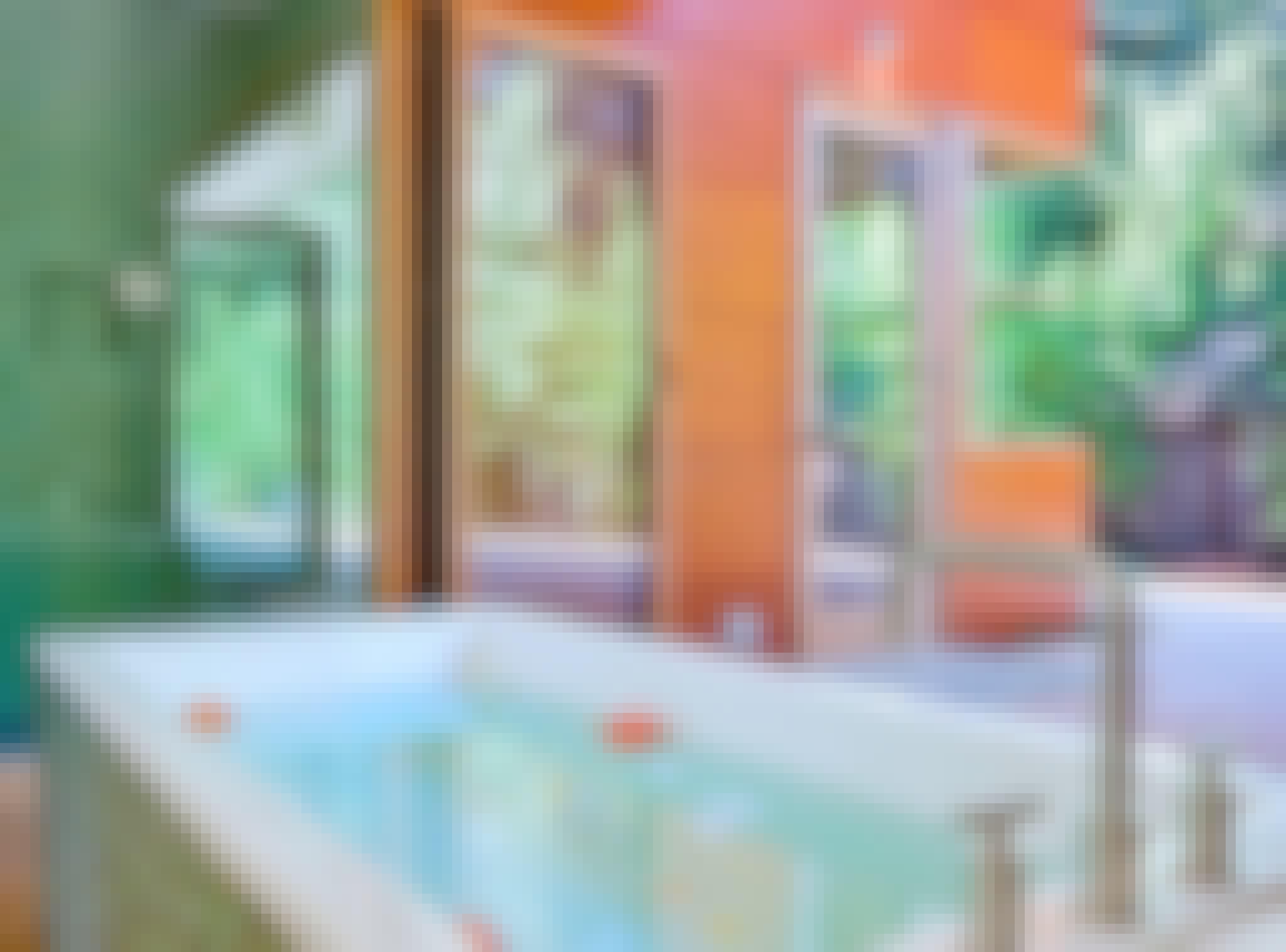 retractable glass doors in bathroom design