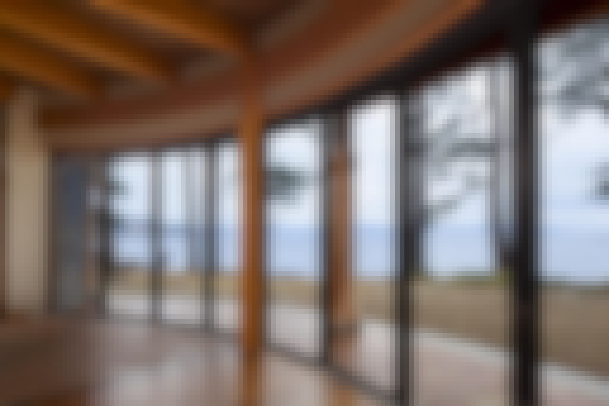 Japanese Walls Using HSW60 Sliding Glass Wall System