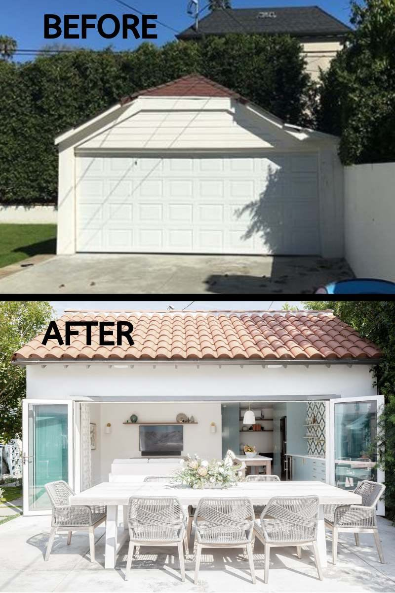 Transforming A Garage Into Luxurious Guesthouse Nanawall