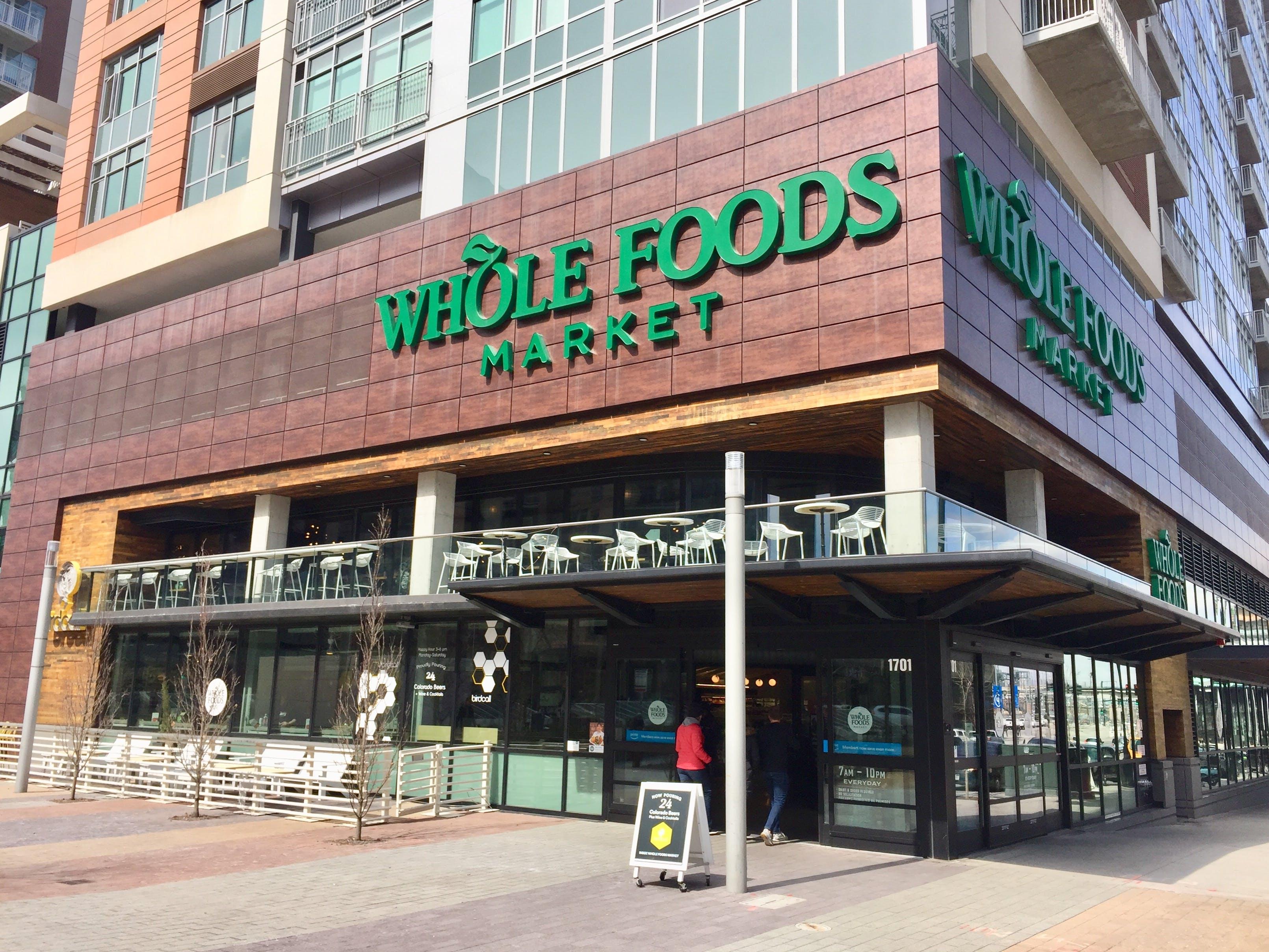 Whole Foods Market storefront Denver
