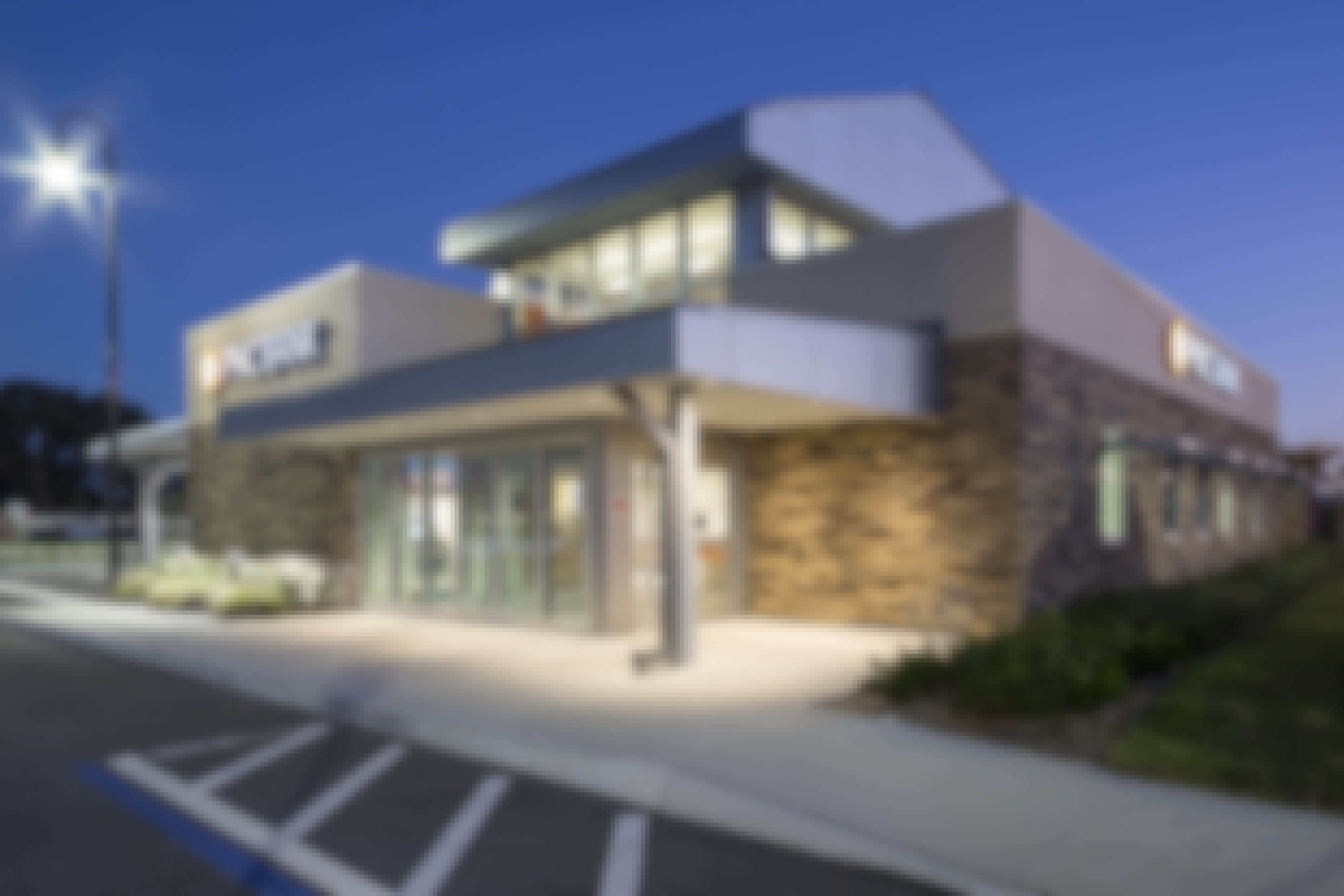 PNC provides ATM vestibules that are light, bright, and secure with frameleass glass walls