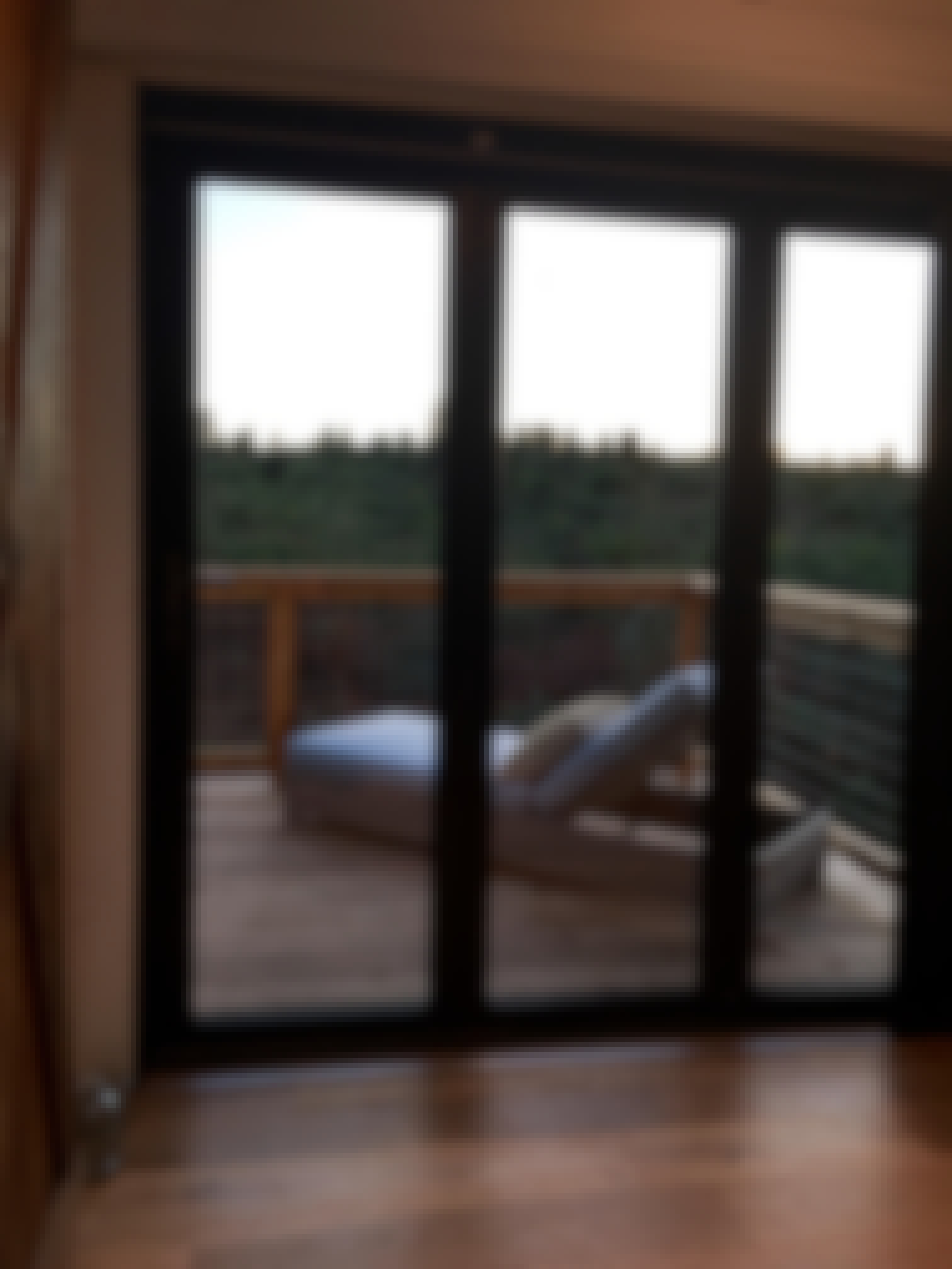The master bedroom inside Shawn and Shelly's tiny home in Maui