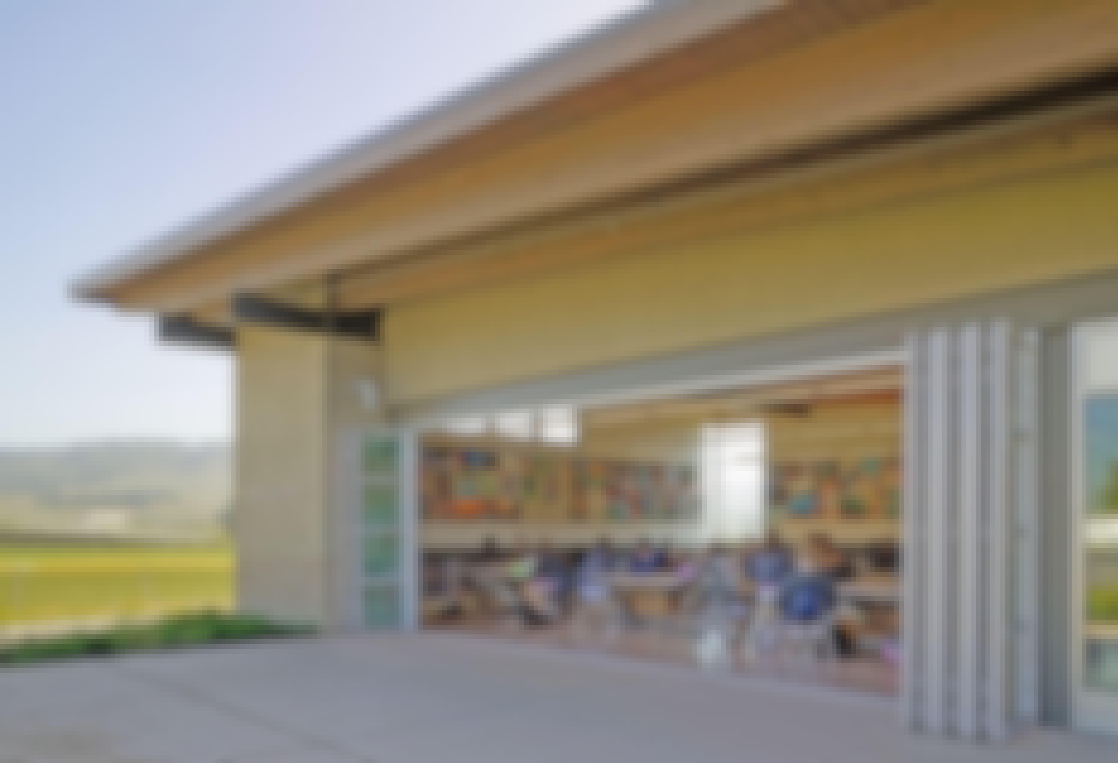NanaWall-folding-door-transforms-a-classroom for wellness in education