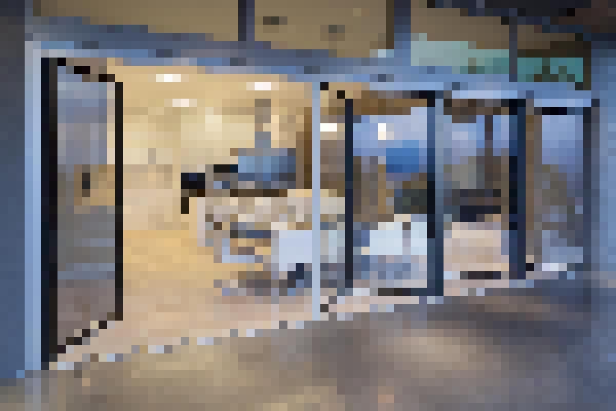 Aluminum Framed Folding Glass Walls SL82 Burnaby Residence BC