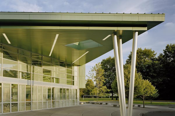 21st Century Schools exterior glass wall systems