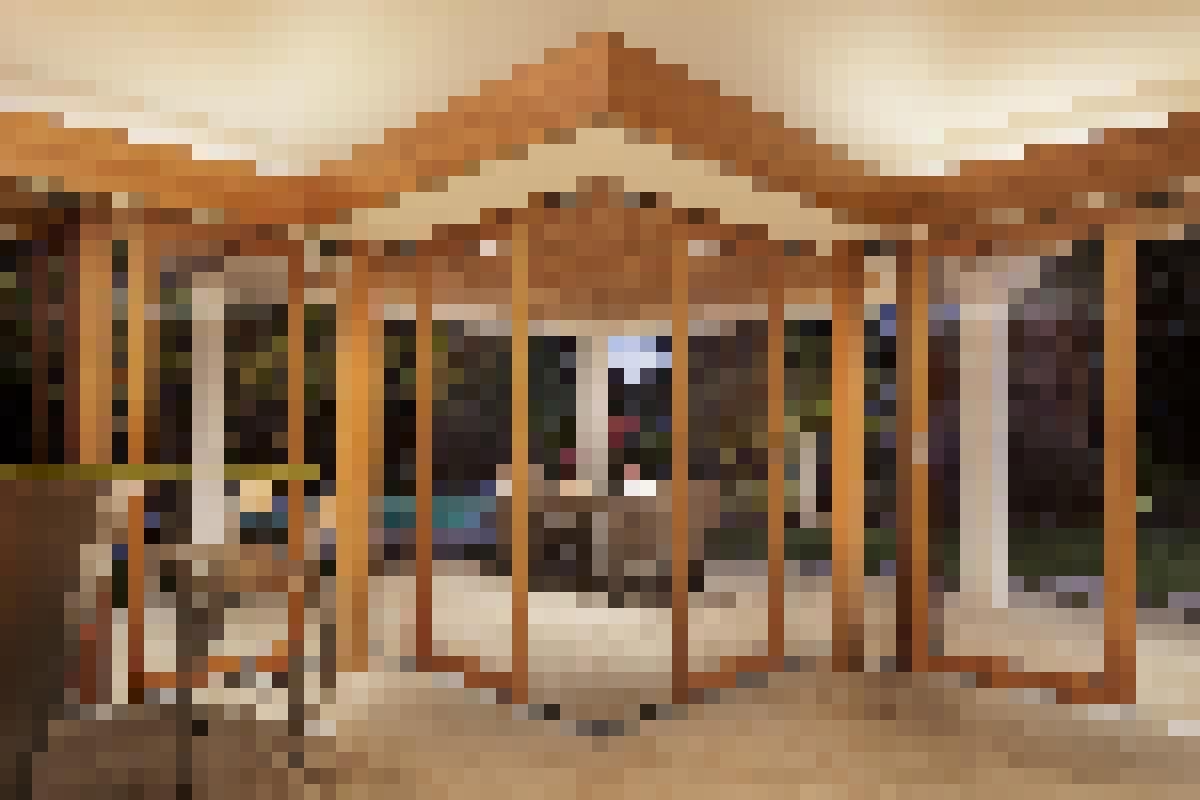 Wood FramedSlidingGlass Walls-HSW66