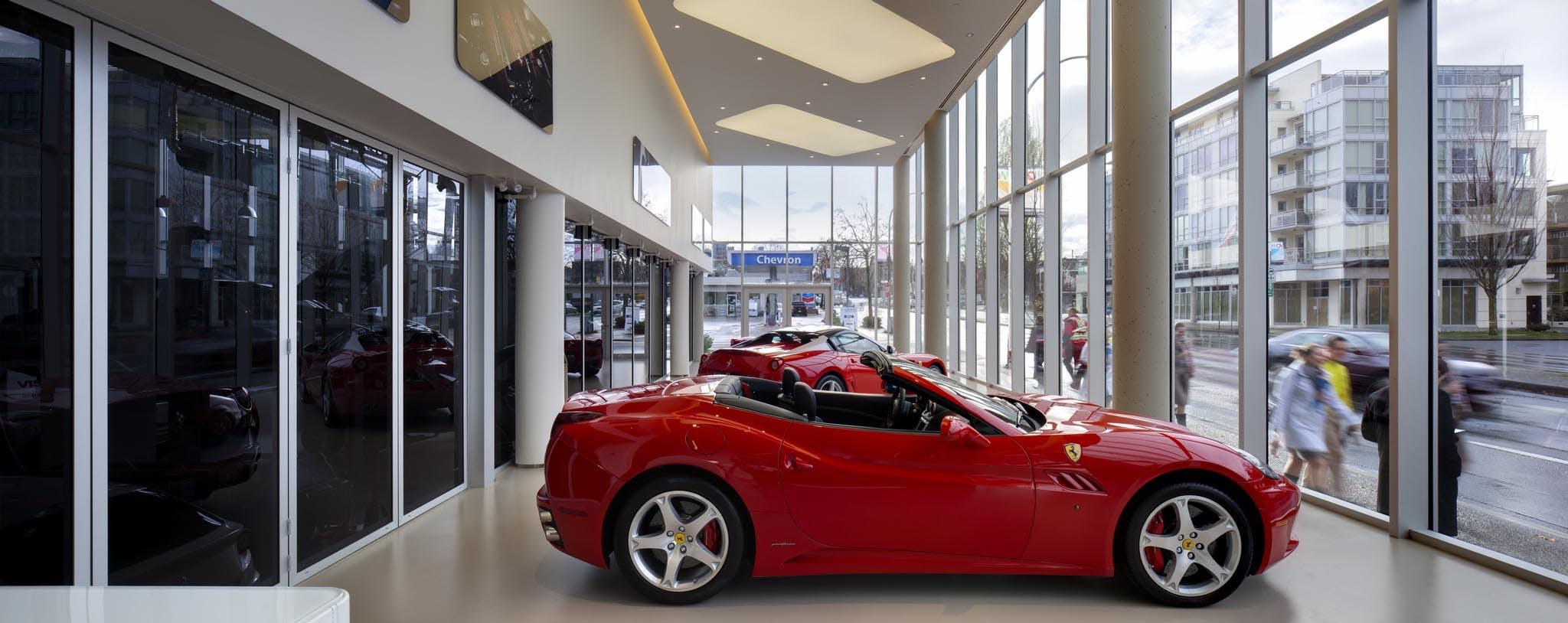 Ferrari Maserati Of Vancouver Nanawall