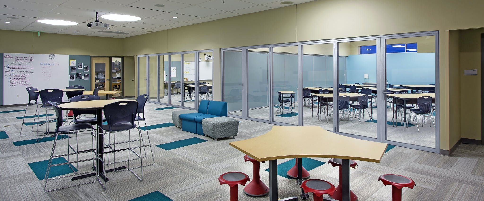 SL64 acoustical LG used for School Design for the 21st Century at Joplin