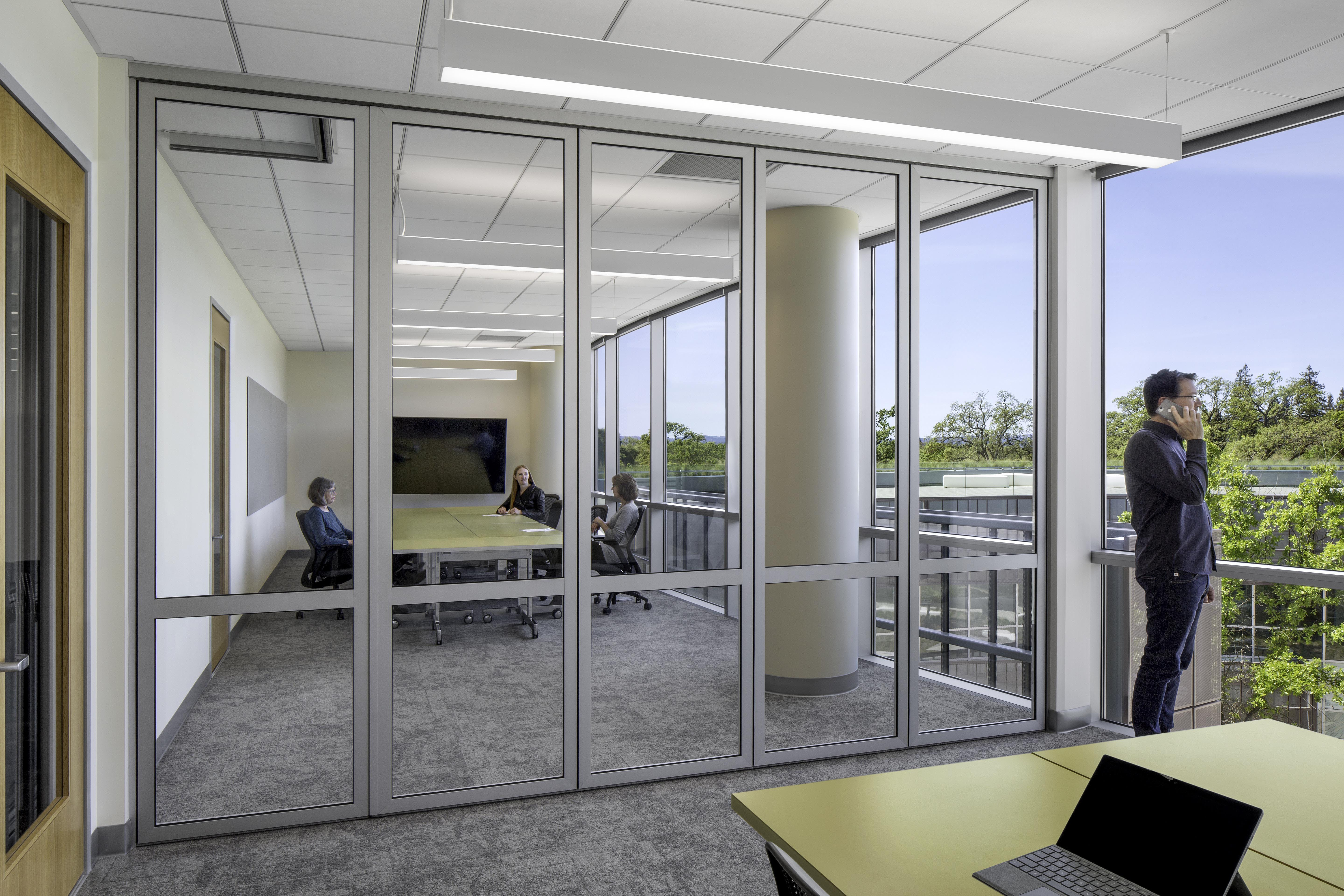 acoustic glass wall- americanag
