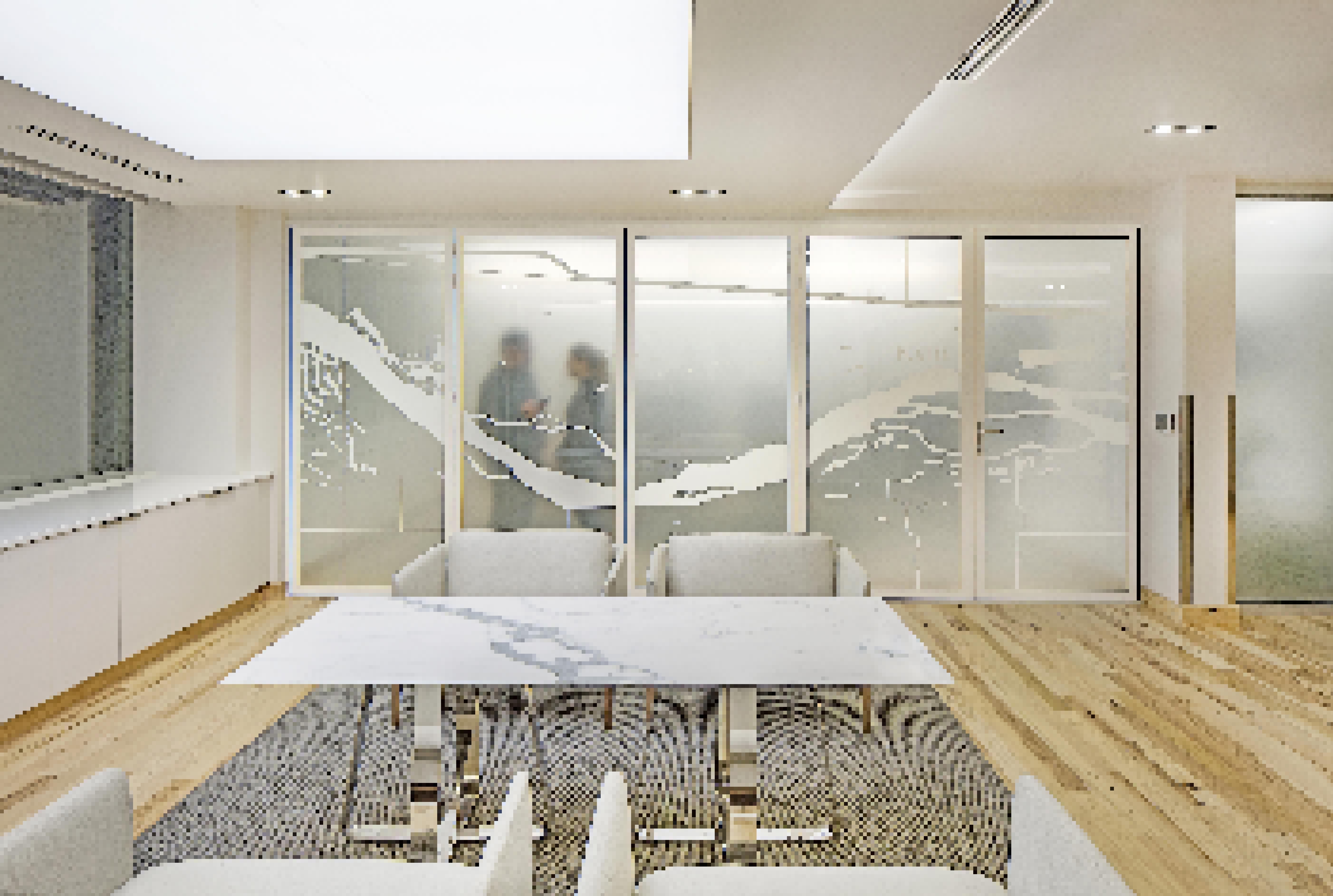 acoustic glass wall koley-jessen-law