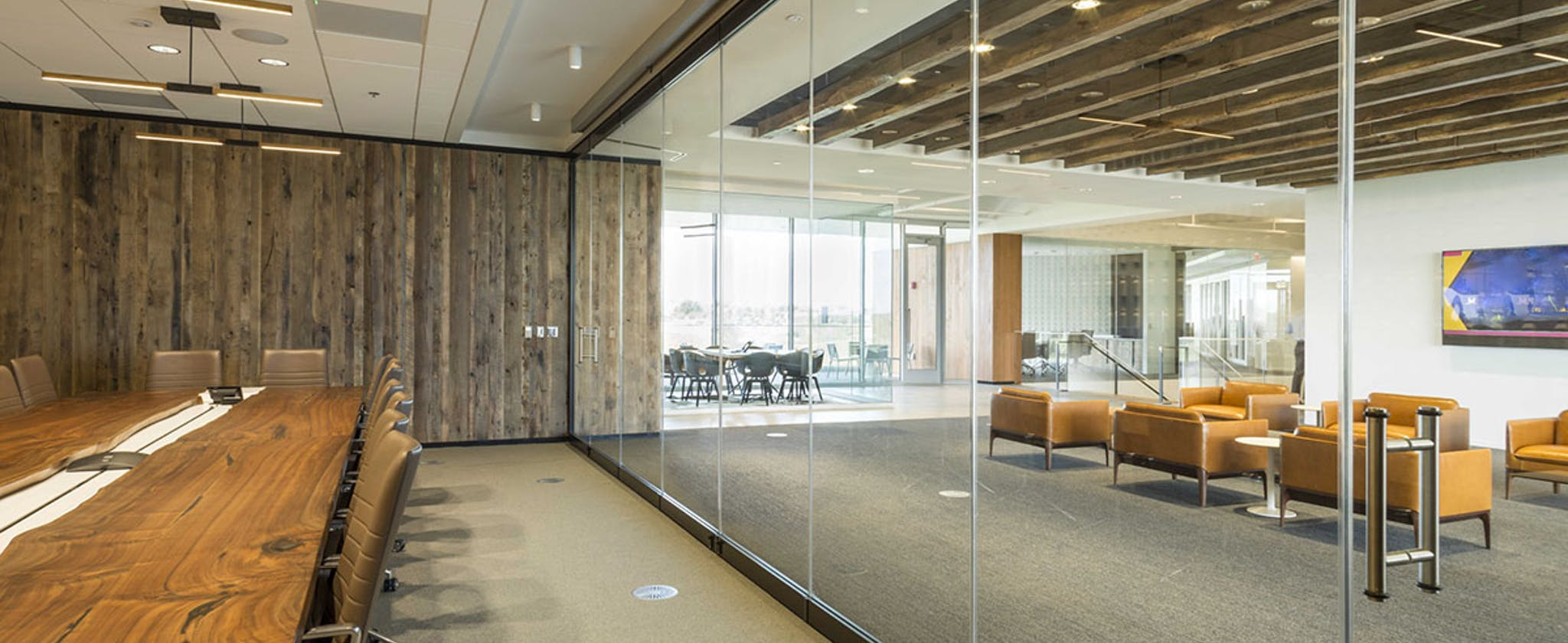 acoustic glass wall