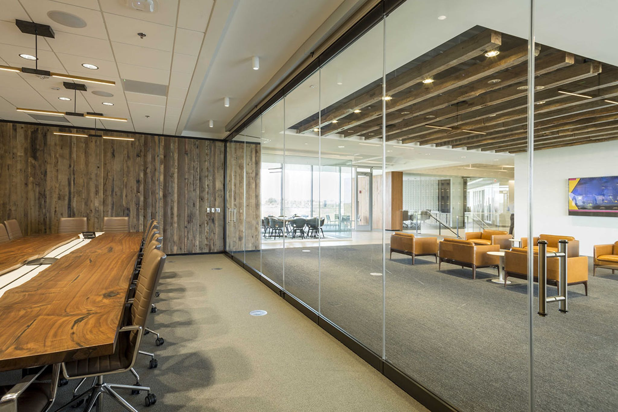 Sound-Rated and Specialty Glass Walls- Sound Control