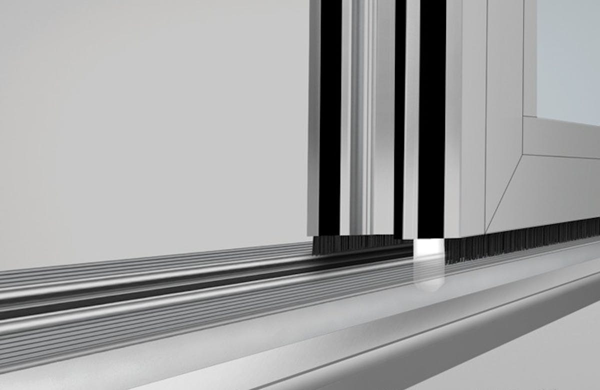 SL70-Folding Glass Walls-Concealed Locking