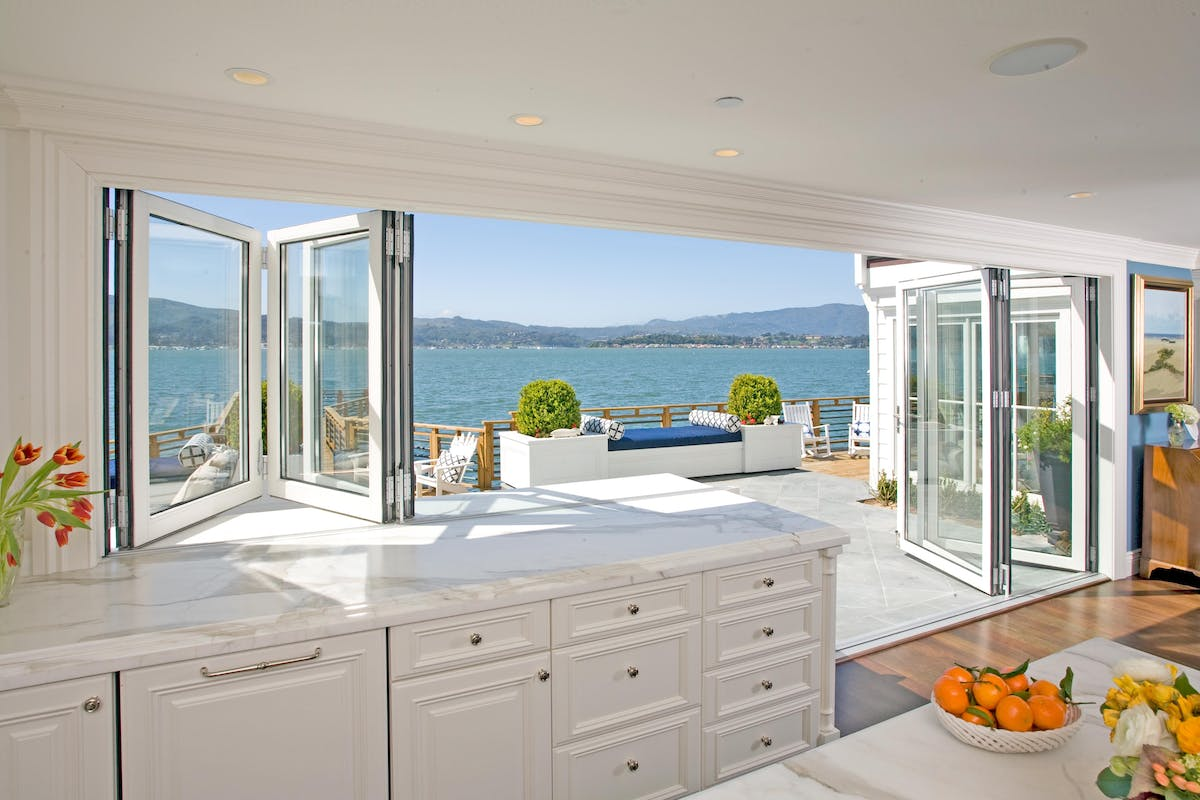 Window Door Combination Sound-Rated and Specialty Glass Walls