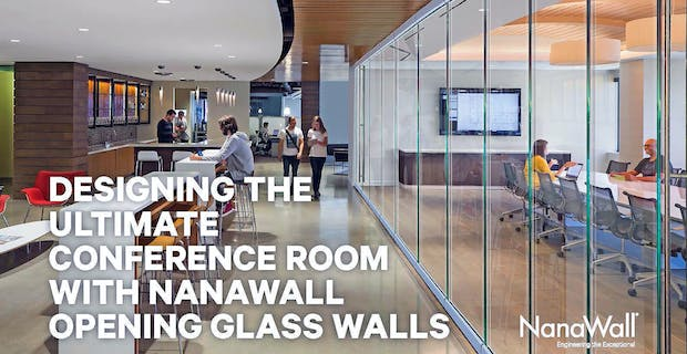 acoustic frameless moveable interior glass walls provide daylight and flexibility to office interior