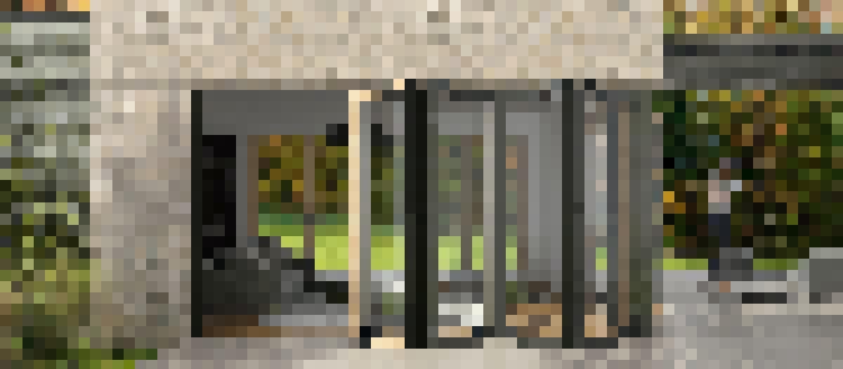 NW Clad 740 Folding Glass Walls