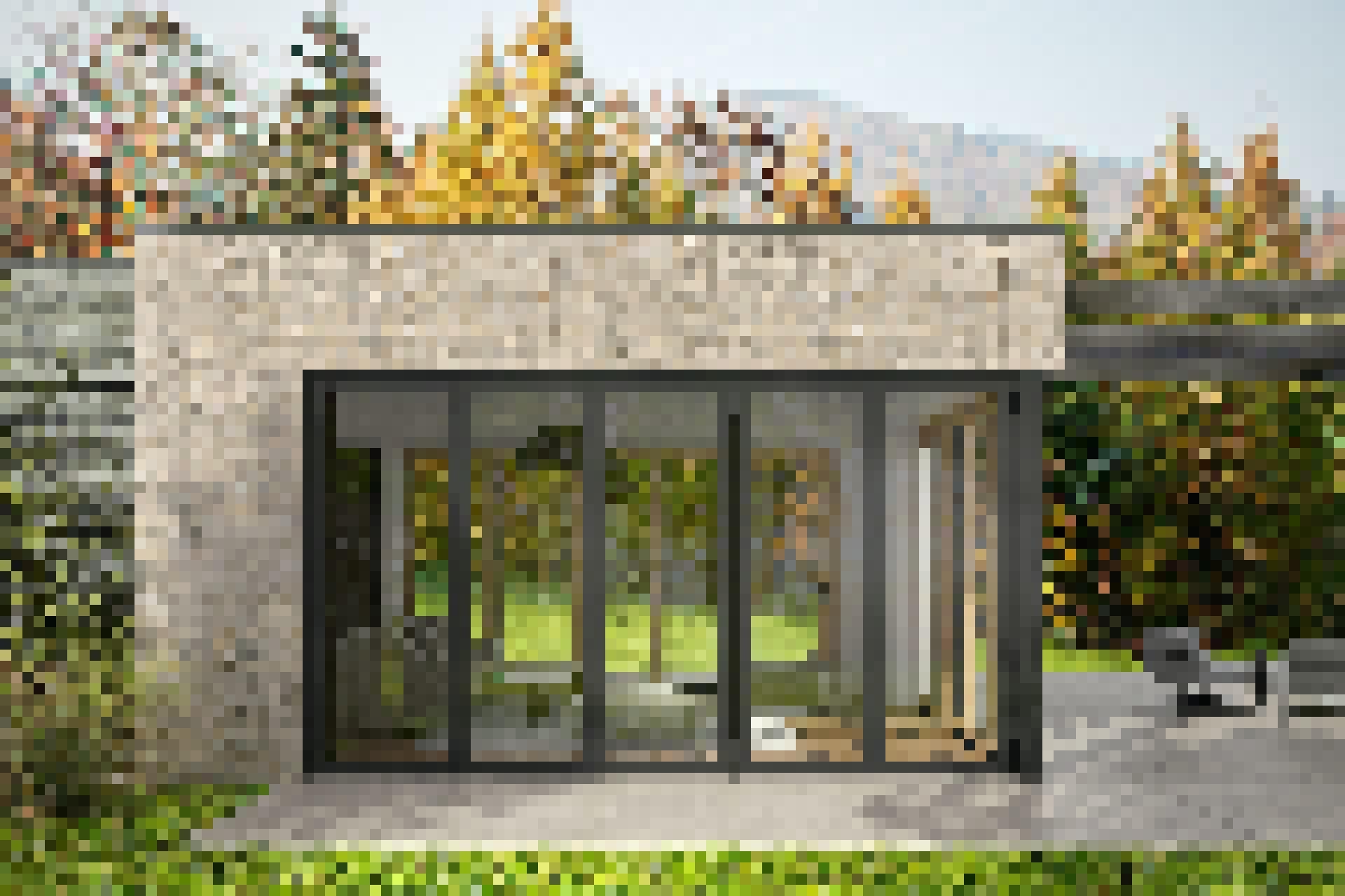 sl84 Slimmest Aluminum Framed Folding Glass Wall