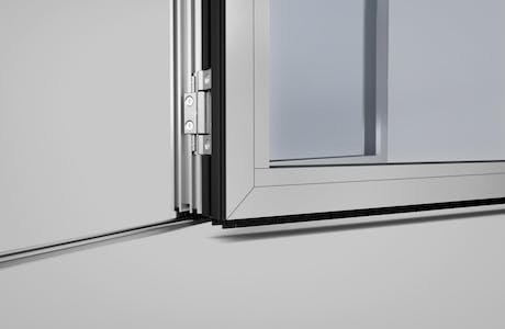 SL45 Folding Glass Walls -track
