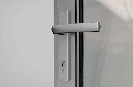 SL45 Folding Glass Walls - handle