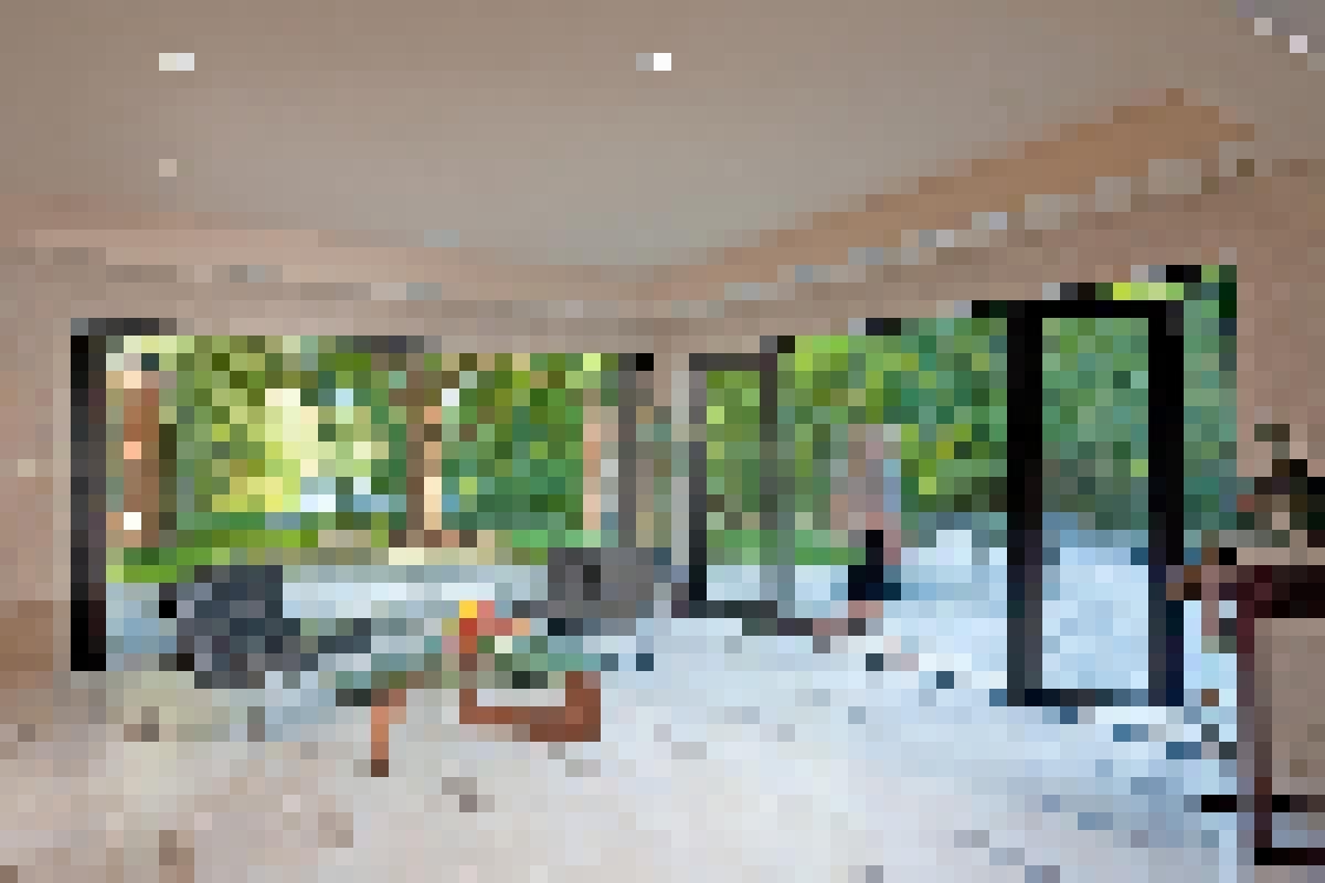 Aluminum Framed Folding Glass Walls SL60 Sausalito Residence
