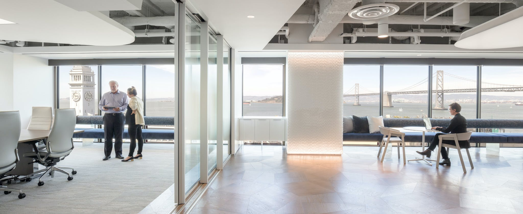 Sound-Rated and Specialty Glass Walls custom glass wall