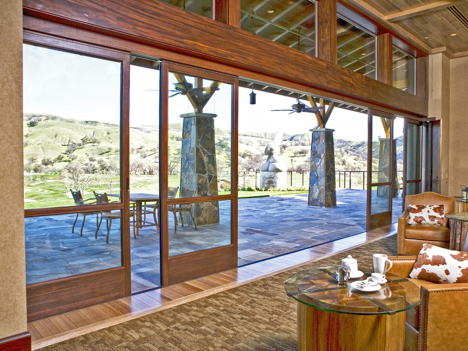 Wood Framed Sliding Glass Walls-Highlights