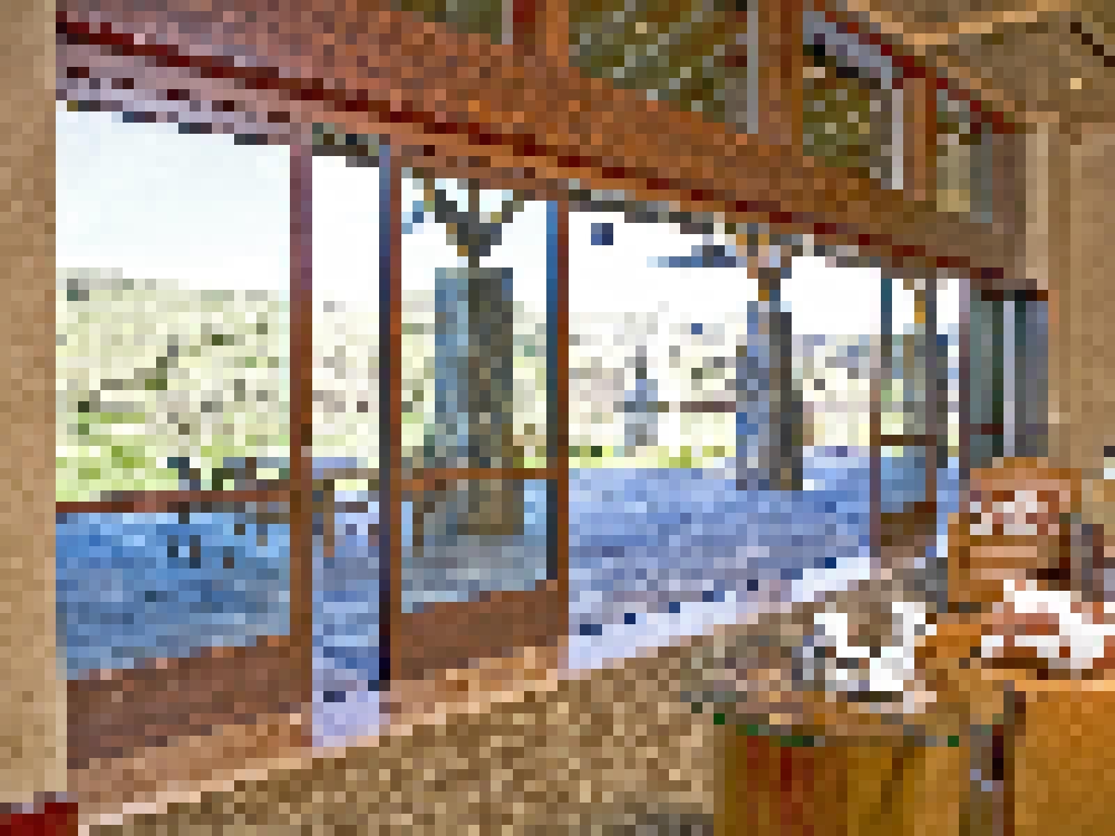 Wood FramedSlidingGlass Walls-Highlights